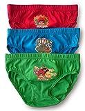Calzoncillos para niño de algodón, paquete de 3-4 - 5 Years (104-110cm) - Angry Birds