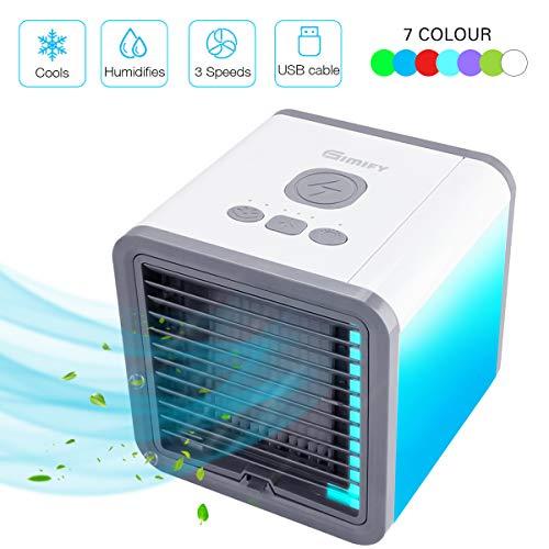Stand- & Tischventilatoren Treu Mini Klimaanlage Klimagerät Luftbefeuchtung Turmventilator Mobil Fernbedienung