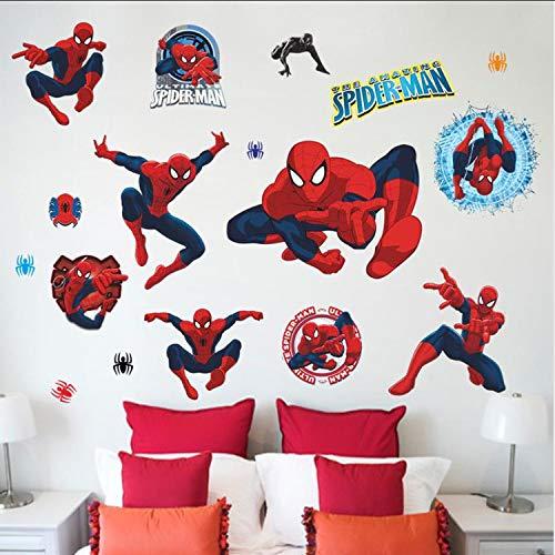 Für Kindergarten Kinderzimmer Dekorationen DIY Home Cartoon Decor Film Fans Wandbild Wandkunst PVC Poster ()