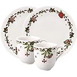 Hutschenreuther 02460-725492-29213 - Platos para dulces de Navidad (porcelana, 4 piezas)