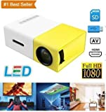 Stylebeats Portable Multimedia HD Mini Led Wireless Projector Video Home Cinema Projector PC