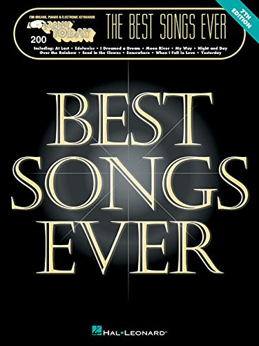 The Best Songs Ever (E-Z Play Today)