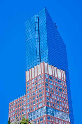 The Poster Corp Panoramic Images - Prudential Building in Background Boston Ma. USA Kunstdruck (45,72 x 60,96 cm)