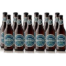 Mahou Barrica Cerveza Edición Especial Bourbon - Caja de 12 Botellas x 330 ml - Total