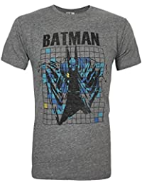 Junk Food Batman Grid Men's T-Shirt