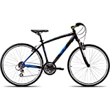UT H2 26T 700 Cross 21 Speed Junior Cycle  19.5-inches (Black & Blue)