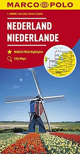 MARCO POLO Karte Niederlande 1:200 000: Wegenkaart 1:200 000 (MARCO POLO Karten 1:200.000)