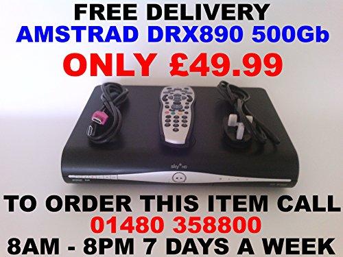 Sky Plus + HD Box–500GB–Sky Amstrad DRX890ON DEMAND, [Import UK-] (Hd Box Uk Sky)