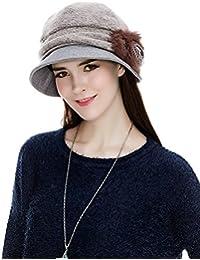 9d2ad7faf5bf86 Ladies Wool Felt Cloche Hat Winter Hats for Women 1920s Vintage Fedora  Bowler Bucket Hat Packable