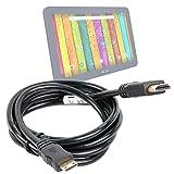 Câble mini HDMI - HDMI pour Archos 101d et 101e Neon |101, 101b et 101c Platinum – branchez votre tablette à votre TV / vidéoprojecteur - DURAGADGET