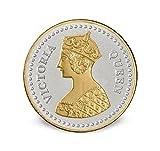 Queen Victoria Gold Silver 10 Gms 999 Silver Coin