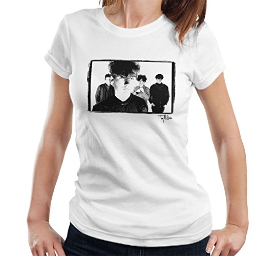 Tony Mottram Official Photography - Jesus And Mary Chain Band Shot Jim Reid Close Up Women's T-Shirt