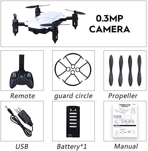 Amyove Cadeau de vacancesLF602 WiFi FPV FPV FPV Quadricoptère Drone Quadricoptère FPV Profesional HD Drones Pliable De La Caméra Altitude Hold 0.3MP 1 Battery White | Elaborer  f8d578