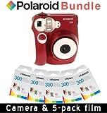 Polaroid 300 Sofortbildkamera in Rot