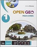 Open Geo. Regioni d'Italia-Atlante geo-storia-Cittadinanza. Per la Scuola media. Con e-book. Con espansione online: 1