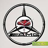 Gravinci.de Schallplatten-Wanduhr Mercedes AMG