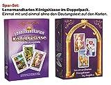Lenormandkarten im Doppelpack: Lenormandkarten Königsklasse & Lenormandkarten Königsklasse mit Deutungstext