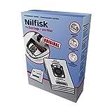 Nilfisk 107407940 - Bolsas aspirador, color blanco