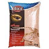 Trixie 76131 Basisszand voor woestijnterraria, 5 kg, geel
