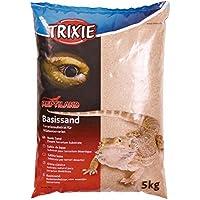 Trixie Basic Sand (Yellow) - Terrarium Substrate for Desert terrariums - 5kg Bag