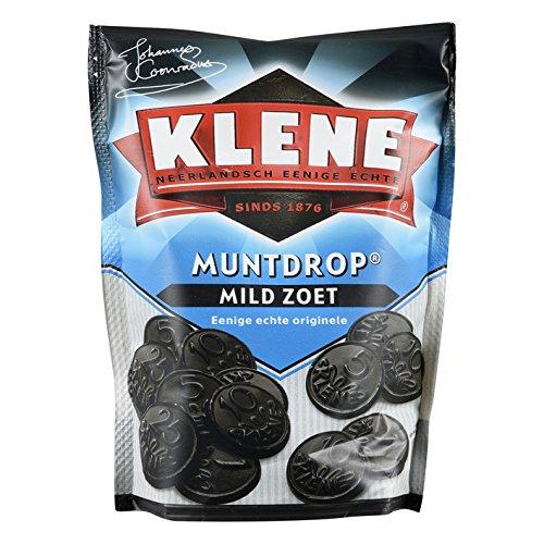 Klene Muntdrop Lakritztaler Süß 230g (Drop Holländischen Lakritz)