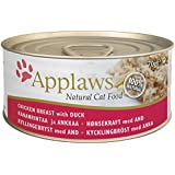 Applaws Cat Food Tin Chicken and Duck 24 x 70 g