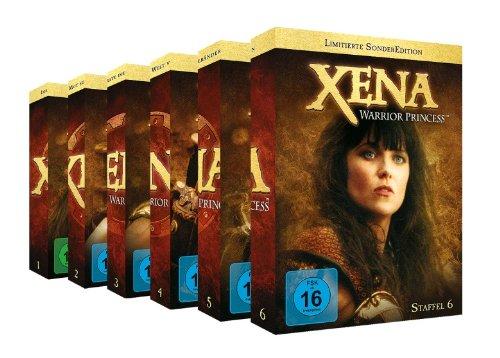 Xena Package 1 - 6 ***Limitierte SonderEdition*** [37 DVDs]