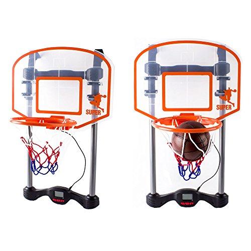 deAO Juego de Baloncesto Mini SET – Tablero Para Colgar en la Puerta