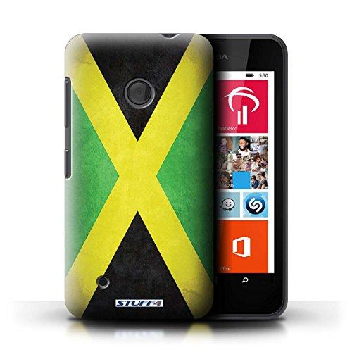 Kobalt® Imprimé Etui / Coque pour Nokia Lumia 530 / Suède/suèdois conception / Série Drapeau Jamaïque/jamaïcain