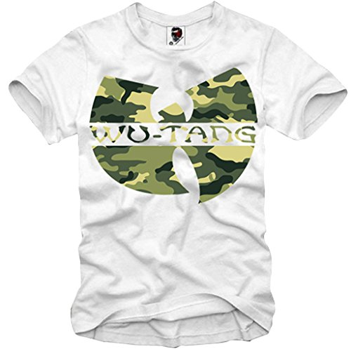 E1SYNDICATE T-SHIRT WU TANG OL DIRTY BASTARD CAMO RAP HIP HOP WEED S-XL