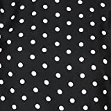 Shyammc comfortable for wearing Polka dot printed Black color Crepe Jumpsuit dress for Women's
