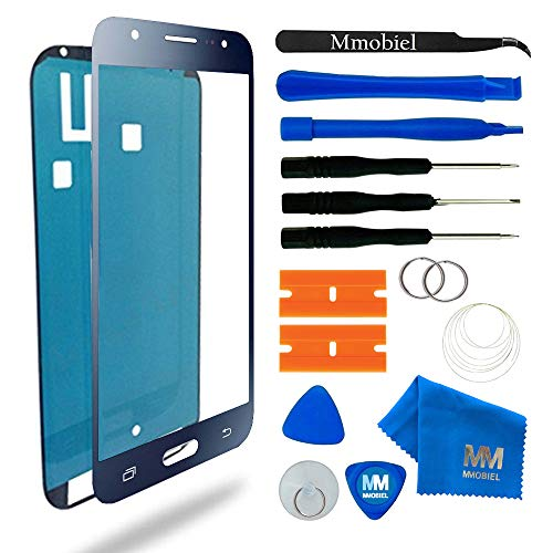 MMOBIEL Kit de Reemplazo de Pantalla Táctil para Samsung Galaxy J5 J500 (2015) Negro Incluye Pantalla de Vidrio/Cinta Adhesiva de 2 mm/Kit de Herramientas/Limpiador de Microfibra/Alambre
