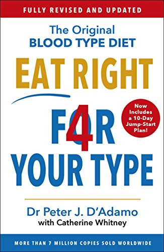 Eat Right 4 Your Type: Fully Revised with 10-day Jump-Start Plan por Dr Peter D'Adamo