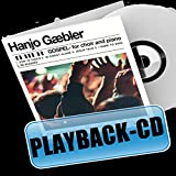 Gospel for choir and piano/ Playback-Versionen: Playback-CD