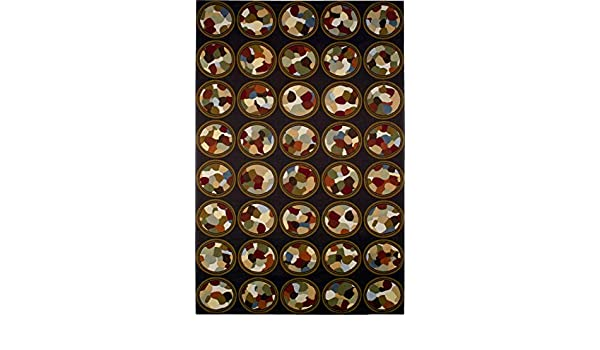 Buy Rhythmic Circles By Sarah Simpson Woven Tapestry Wall Art Hanging Abstract Collage Circles In Large Array 100 Cotton Usa Size 85x53 Online At Low Prices In India Amazon In