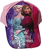 Disney Frozen/Die Eiskönigin Cap - Sisters forever - Schwesterliebe - Anna und Elsa - Rosa/Mehrfarbig
