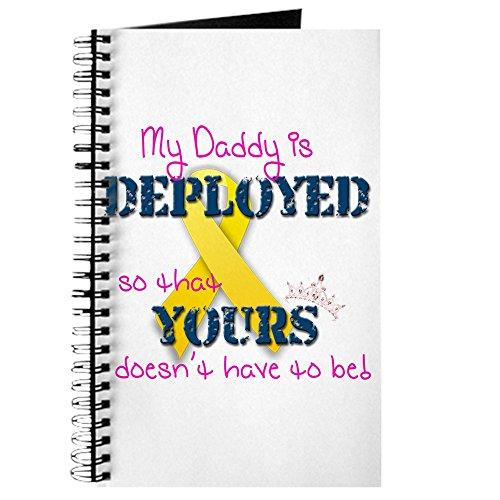 CafePress-Daddy is Pink-Spiralbindung Journal Notizbuch, persönliches Tagebuch, liniert -