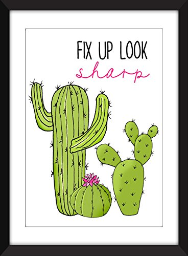 fix-up-look-sharp-cactus-print-unframed-imprimer