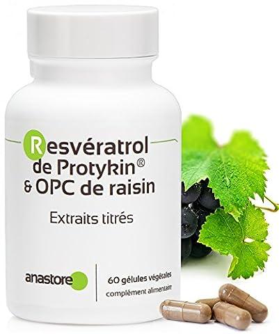 RESVERATROL de PROTYKIN® & OPC de raisin * Pour soulager