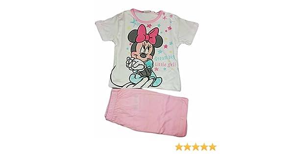 Disney Pigiama Bimbo Neonato Minnie Mouse Blu Scelta Taglia 12 18 Mesi