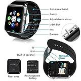 Adlyn A9F Bluetooth Smart Watch, Touchscreen Smart Wrist Watch Smartwatch Phone Fitness Tracker