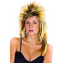 1980s Jahre Vokuhila Perücke Braun Blond Oder Schwarz Rock Star Music Accessoires
