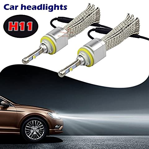 sweon 2H1180W 4800LM xhp-50CREE Ampoule LED pour voiture Phare LED Kit de phare blanc froid 6000K H1H3H4H7H1390049005900690079012