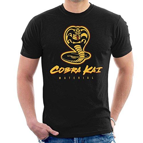 Cobra Kai Material Karate Kid Men's T-Shirt (T-shirt Kai Karate Cobra Kid)