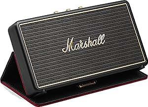 Marshall Stockwell Altoparlante Stereo Portatile con Custodia, Nero