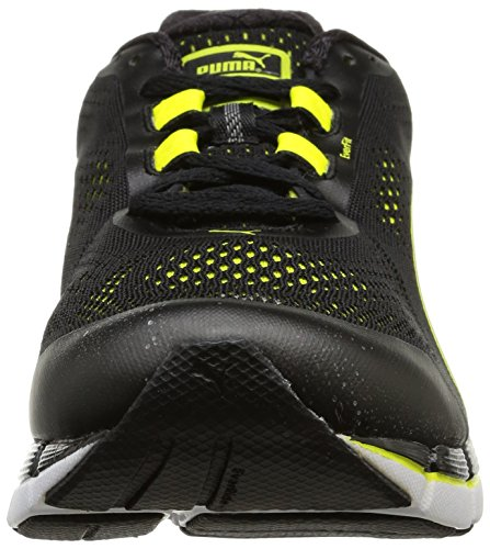 Puma  Faas 600 v3, Chaussures de course hommes Noir (Black/Silver/Sulphur Spring)