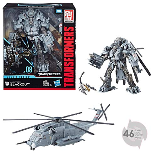 Transformers���Figurine MV6�Studio Series Leader TF1�Blackout, e0980