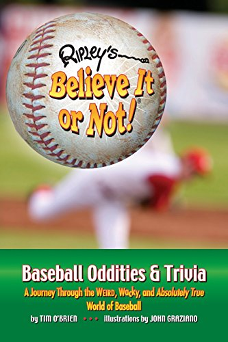 Ripley's Believe It or Not! Baseball Oddities & Trivia por Tim O'Brien