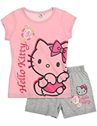 Hello Kitty Fille Pyjama court 2016 Collection - rose