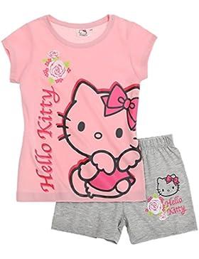Hello Kitty Ragazze Pigiama maniche corte 2016 Collection - rosa
